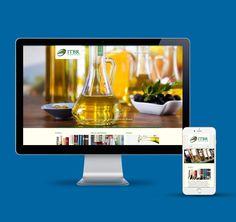 Criação do site da ITBR Importadora na plataforma WordPress.