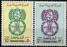 Francobolli . Lotta contro la malaria - Malaria on Stamps Siria 1962