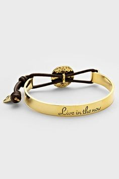 Live in the Now Bracelet