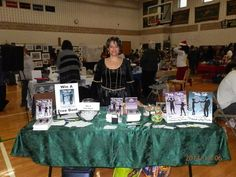 It is amazing how fast people change. The Coventry High School PTO Holiday Fair marked six months since I quit my day job to become a full time author >ooh, shivers<. It was such a treat to see my former students again, and they certainly have matured.