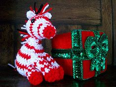 Peppermint Zebra Free Crochet Pattern!!