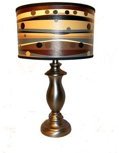Table Lamp Brushed Silver