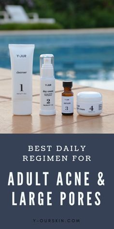 Best daily regimen for adult acne and large pores. Take our skin quiz to find the best skin care products for your adult acne, cystic acne, hormonal acne, and acne scars. Beauty Care, Beauty Skin, Skin Care Tips, Skin Care Regimen, Quiz, Hormonal Acne, Health And Beauty Tips, Acne Scars, Skin Treatments