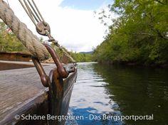 """Mit einer """"Gabare"""" auf der Dordogne unterwegs, Région Limousin, Frankreich - Foto: Mario Hübner"""
