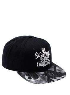The Nightmare Before Christmas Logo Snapback Hat | Hot Topic