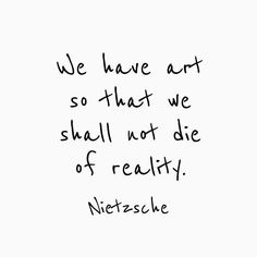 Death by reality is quite a sentence. (#Repost @artofmindfulness)