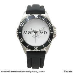 Mops Dad Herrenarmbanduhr Uhren