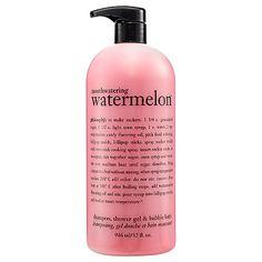 Philosophy Mouthwatering Watermelon™ Shampoo, Shower Gel & Bubble Bath: Shop Body Cleanser   Se