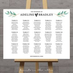 Wedding seating chart large poster table seat assignment guest seating chart reception display wedding welcome DIGITAL customized by HandsInTheAttic Reception Seating Chart, Table Seating Chart, Wedding Reception Seating, Seating Chart Wedding, Reception Table, Table Wedding, Wedding Signs, Wedding Ideas, Wedding Planning
