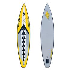 "The Naish ONE 12'6"" inflatable paddle board is one of the best selling inflatable boards around the world for all round cruising, long distance touring and the N1SCO one design racing class. It features a sleek race outline, 30 inches of width and 6 inches of thickness for incredible rigidity, stability and speed. It also has an integrated number guide on the deck pad for referencing proper stance position."