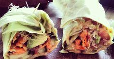 Raw Vegan Burrito with Awesomesauce