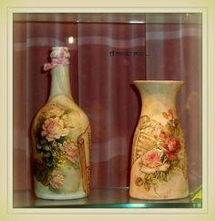 bottiglia e vaso