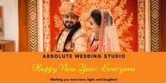 New Year is one of the biggest day of the year for every people. Absolute Wedding Studio is wishing you a wonderful year ahead.