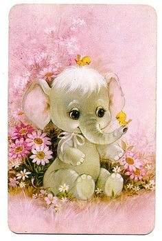 Henna Elephant, Happy Elephant, Elephant Love, Elephant Art, Baby Animal Drawings, Cute Drawings, Cute Images, Cute Pictures, Baby Animals