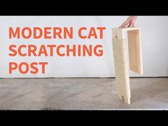 DIY Modern Cat Scratching Post: 8 Steps (with Pictures)