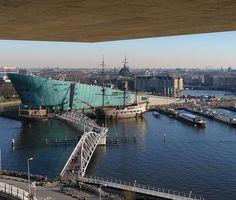 Science Center Nemo, Amsterdam.