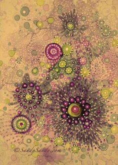 "*SANDY SANDY ART*: Do You Doodle?""Martini"" ~ Sold http://www.sandysandyart.com/2014/11/do-you-doodle.html"
