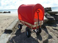 wagon pull trailer trolley flyer truck radio go kart camper Retrowagen + cover