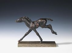 RENÉE SINTENIS Galoppierendes Fohlen, 1929. Bronze