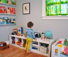 Efter Stormen Blog: IKEALove Expedit en el cuarto de los niños, IKEALove Expedit in kids room