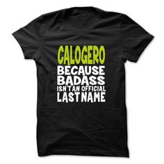 I Love (BadAss001) CALOGERO Shirts & Tees