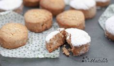 Polvorones de almendra... Christmas crumbly shortbread Traditional pastry from Spain