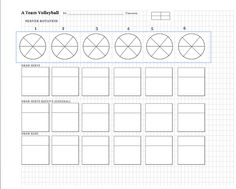 picture about Volleyball Rotation Sheet Printable called 497 Easiest Volleyball photographs within just 2019 Education volleyball