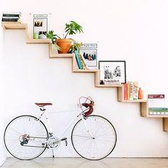 >> boa noite! ❤️ via @marycostaphoto #bikelovers #design #besimple #simplehome #ideasforhome #ideiasparacasa #thinkdiferent #homedecor #diy #doityourself #designdeinteriores #interiores #furniture #besimpleandfree