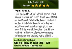 I just wanted to let you know I believe I had plantar fasciitis and cured it with your...