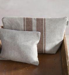 Taschen und Schals - linenproject.com