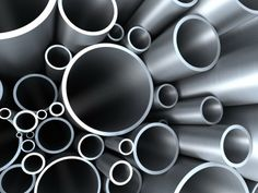 Metal Pipes PPT Backgrounds