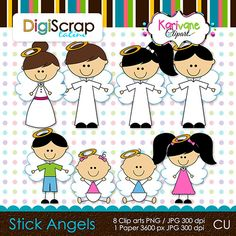 Stick Angels