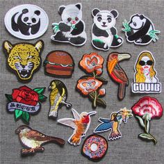 1pcs sell fashion style hot melt adhesive applique embroidery patch DIY clothing accessory patches stripes C5170-C5232 #Affiliate