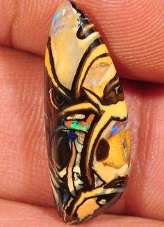 Koroit Opal Stones 25 x 9 x 4mm 7.3 carats Auction #327081 Opal Auctions