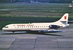 First flight of the Sud Aviation SE 210 Caravelle medium-range airliner 27/5 1955.
