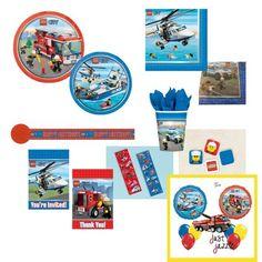 Lego City Fire Police Birthday Party Supply U Pick