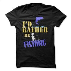 Id Rather Be Fishing Funny Shirt  - #tshirt upcycle #hoodie tutorial. ORDER NOW => https://www.sunfrog.com/Fishing/Id-Rather-Be-Fishing-Funny-Shirt-.html?68278