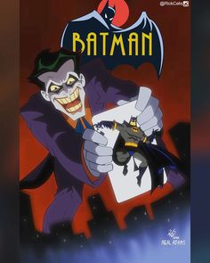 After Neal Adams  #BringBatmanTASback  What batman's cover (all time) would you like to see next? Comment below.  #Batman #btas  #BatmanTas #Joker #NealAdams #rebirth #PaulDini #brucetimm  #rickcelis