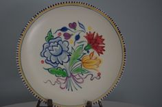 Hand Painted Vintage Poole Pottery