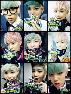 Zelo. I love all of his hair colors. They are so beautiful.
