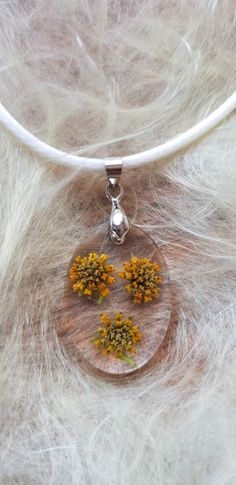 South African Indigenous Yellow Budding Preserved Flowers set in resin on faux leather white chain (see through) Resin Jewelry, Unique Jewelry, Beautiful Pink Roses, Beauty Forever, Little Rose, How To Preserve Flowers, Leather Necklace, Sell On Etsy, Ball Chain
