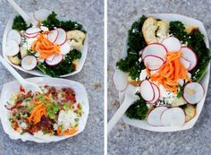 Bacon Fried Rice and Kale Panzanella From Mei Mei Street Kitchen