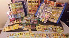 Vintage Pokemon Lot Cards, Watch, VHS 1st Edition Holos Pocket Monsters Mew, etc #Pokemon