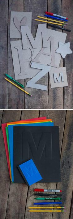 Repurposed Cereal Box DIY Art | 28 Things You Can Make From Cereal Boxes | Cool And Fun Crafts For Kids by DIY Ready at   http://diyready.com/28-things-you-can-make-from-cereal-boxes/