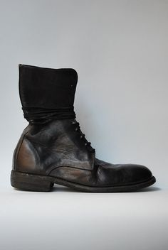 Guidi - 991 Horse Lined Full Grain Black