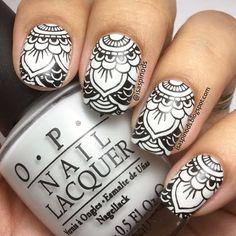 Little Fairy: #retotecnicasae - Stamping (Mándala + Acuarelas)