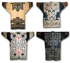 Amazing Ainu embroidery