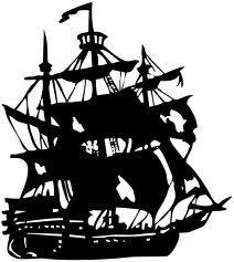 pirate clip art free printable illustration of pirate skull rh pinterest com Pirate Map Clip Art Pirate Skull and Bones