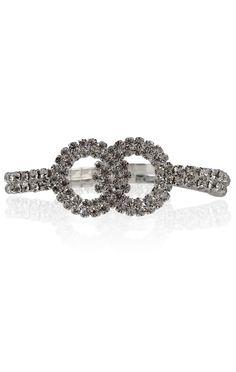 Deb Shops #infinity rhinestone stretch #bracelet