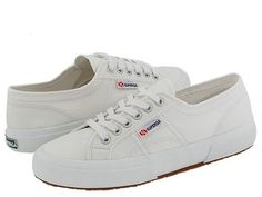 Superga 2750 COTU Classic White - currently my favorite sneakers. Cute in black and colors, too.